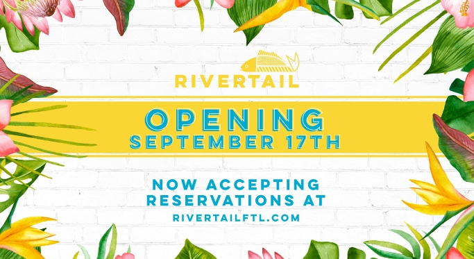 Rivertail, Sister Restaurant to The Wharf Fort Lauderdale, Announces September Reopening